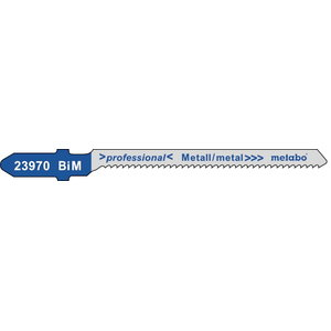 Jigsaw blades 1,5/57 mm, BiM - 5pcs, Metabo