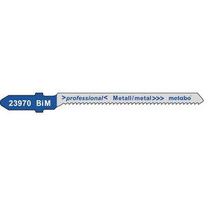 полотно для лобзиковой пилы металл , 57 мм/1,5 Bim 5  шт., METABO