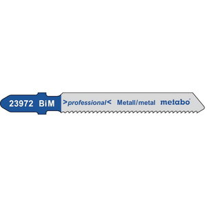 Tikksaetera metallile 1,6/50 mm, BiM - 5tk, Metabo