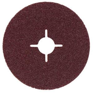 Šķiedras slīpdisks 125 mm p60 Al2O3, 1 gab., Metabo