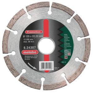 Dimanta griezējdisks 115x22,23 mm, Metabo