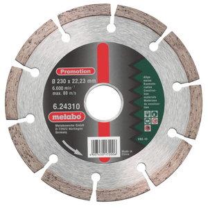 Deimantinis  pjovimo diskas 230 x 22,23 mm, Metabo
