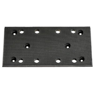 Velcro faced base plate 93x185 mm, Metabo