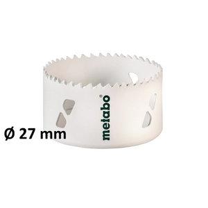 HSS BiM gręžimo karūnai 27 mm, Metabo