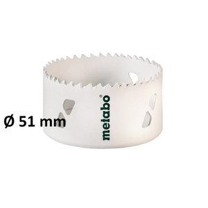Caurumu zāģis (HSS-bimetāla), 51mm, Metabo