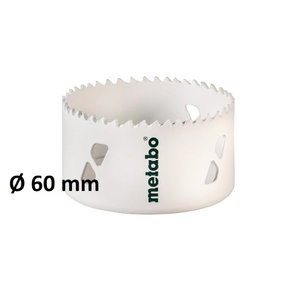 Caurumu zāģis HSS-Bi, 60mm, Metabo