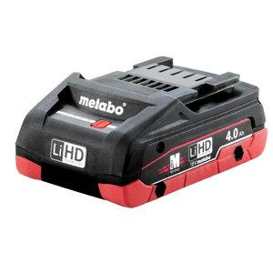Battery 18V / 4,0 Ah LiHD, Metabo