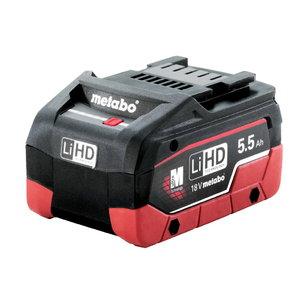 Akumuliatorius 18 V 5,5 Ah LiHD, Metabo