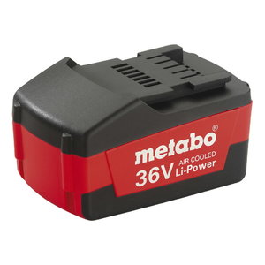 Battery 36V / 1,5 Ah Li-ion, Metabo
