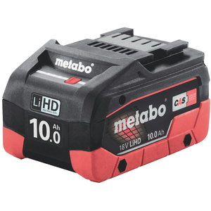 Battery 18V / 10,0 Ah LiHD, Metabo