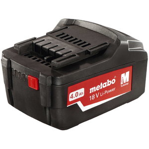 Akumuliatorius 18V 4,0  Ah Li-ion Power Extreme, Metabo