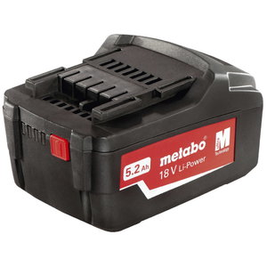 Akumuliatorius 18V 5,2 Ah Li - ion Power Extreme, Metabo