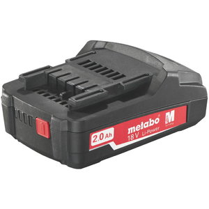 Battery 18V / 2,0 Ah, Li Power Compact, Metabo