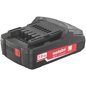 Akumulators 18V / 2,0 Ah, Li Power Compact, Metabo