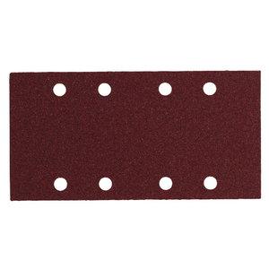 Slīpēšanas papīrs 93x185mm, P80 - 10pcs. SRE 4351, Metabo