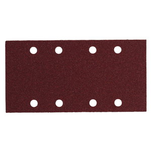 Slīpēšanas papīrs 93x185mm, P100 - 10pcs. SRE 4351, Metabo