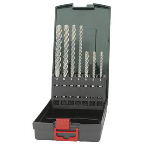 SDS-plus P4P hammer drill set, 7-pcs, Metabo