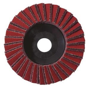 5 lapeliniai šlifavimo diskai 125x22,23 grubūs KLS, Metabo