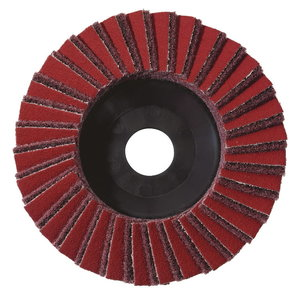 5 Combination lamellar grinding discs, 125x22,23, Coarse, Metabo
