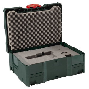 MetaLoc II with foam plastic insert (157,5 x 396 x 296 mm), Metabo