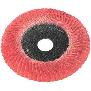 Lapelinis šlifavimo diskas Flexiamant Super Convex ceramic 125mm P60, Metabo