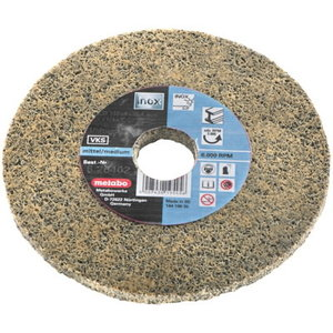 Fleece compact disc 125mm VKS ZK, coarse, Metabo