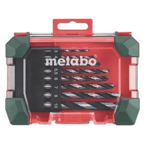 Wood drillbit set, 8 pcs, 3-10 mm, Metabo