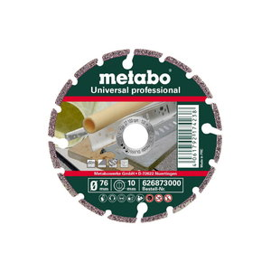 Diamond cutting disc 76x10mm Professional UP, Metabo