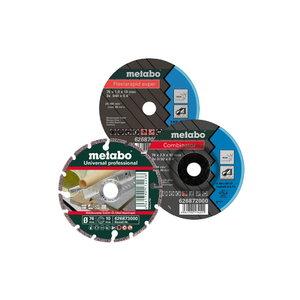Metāla griežšanas un slīpēšanas diska komplekts 76mm 3 gab., Metabo