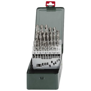 HSS-twist drills 25 pcs, Metabo