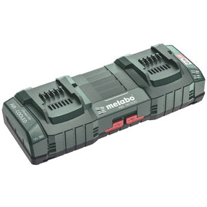Dual port charger ASC 145 12-36 V + 2xUSB, Metabo