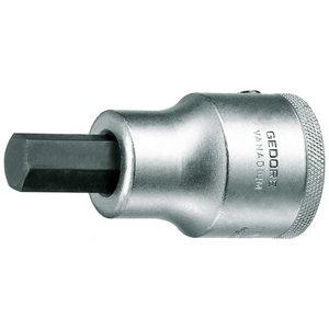 Sisekuuskantpadrun 3/4 19mm L80mm IN32, Gedore