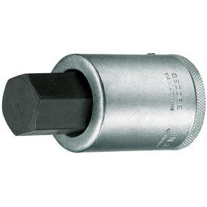 Sisekuuskantpadrun 3/4 22mm L80mm IN32, Gedore