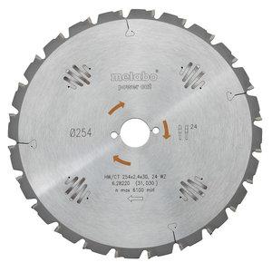 Saw blade 450x3,8/2,8x30 Z66, WZ. Power cut, Metabo