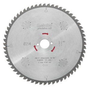 пильный диск  HW/CT 160 синяя1,6/1,1 синяя20 24 WZ, METABO