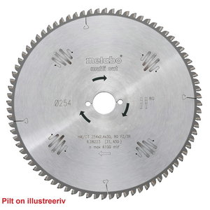 Pjovimo diskas 216x2,6/1,6x30, z60, FZ/TZ, -5°, Multi Cut.