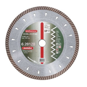 Dimanta griezējdisks 125x22,23 mm, profesionālais, UP-T, Metabo