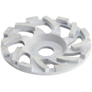 Diamond cup-wheel for abrasive mat. 125 mm., Metabo