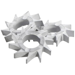 Star flat (set = 15 pcs.). RF 14-115, Metabo