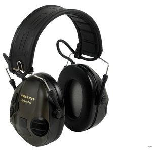 Peltor MT16H210F-478-GN SportTac ausinės žalios XH001650049, 3M
