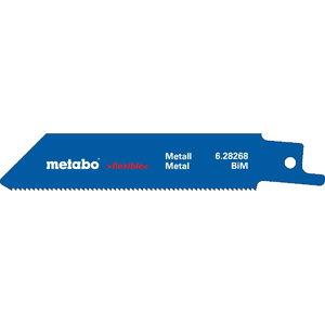 Zobenzāģa asmeņi, metāla 0,9x100mm, BiM - 5pcs. Professional, Metabo