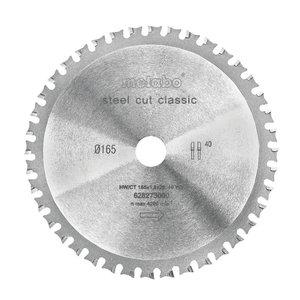 Pjovimo diskas 165 x 20 Z40 WZ 4° MKS 18 LTX 57, Metabo