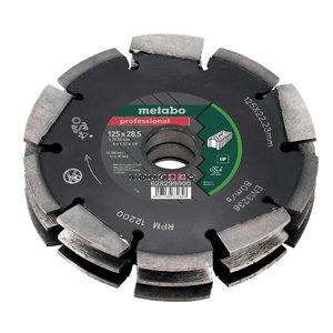 Deimantinis pjovimo diskas Dia-CD3 125x28x22.23 mm UPMFE 40, Metabo