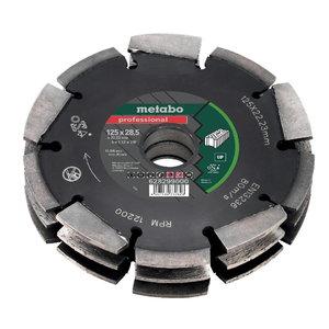 Dimanta griezējdisks Dia-CD3, 125x28x22.23 mm UP, MFE 40, Metabo