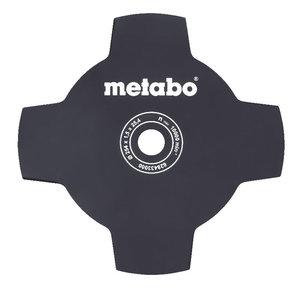 4- stūru nazis pāraugušai zālei, 254mm/1,5mm centrs 25,4mm, Metabo