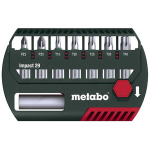 Löökotsakute komplekt, 7-osaline. 29 mm, Metabo