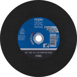 Metallilõikeketas 350x3,0x25,4mm L SG CHOP HD STEEL, Pferd