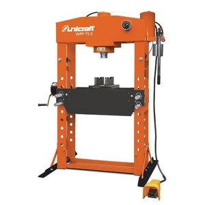 Hydraulic workshop press 75T WPP 75 E, Unicraft