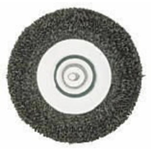 Wire wheel brush, fine, Metabo