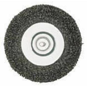 Wire wheel brush, fine, Metabo